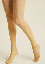 ModCloth Sheer Me Out Tights in Dijon