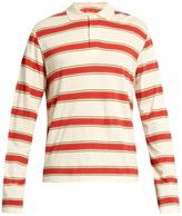 Stella McCartney Striped long-sleeved polo shirt