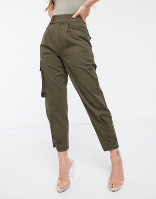 Asos DESIGN military pants with pocket