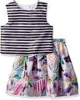 Pippa & Julie Big Girls' Skirt and Top Dress Set
