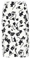 Altuzarra Celandrine floral-printed crêpe skirt