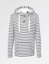 Fat Face Whitstable Stripe Popover Hoody