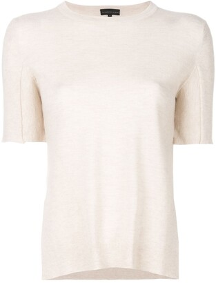 Cashmere In Love Sahar shortsleeved knitted top