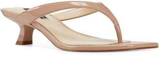 Nine West Thong Kitten Heel Sandals - Manold