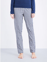 Tommy Hilfiger Checked woven cotton pyjama bottoms