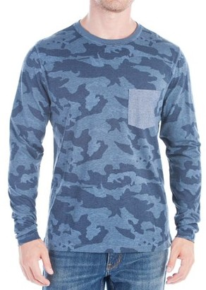 No Retreat Volk Men's Long Sleeve Printed Crewneck