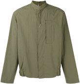 Oamc mandarin collar cropped shirt - men - Cotton - M