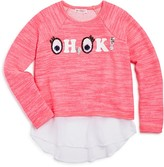 Design History Girls' Oh, OK Top - Big Kid