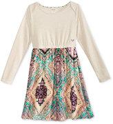 Roxy Patterned Skirt Dress, Big Girls (7-16)