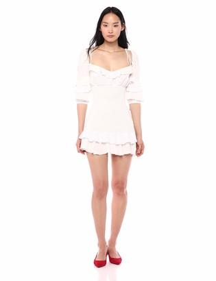 For Love & Lemons Women's Bora Ruffle Mini Dress