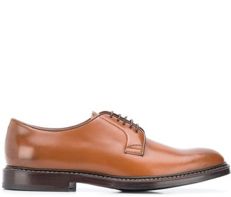 Brunello Cucinelli burnished Derby shoes