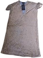 Burberry Gold Dress