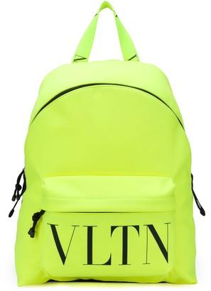 Valentino nylon VLTN logo print backpack