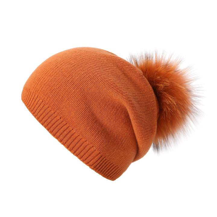 70e909e8b834b Orange Knitted Hat - ShopStyle Canada
