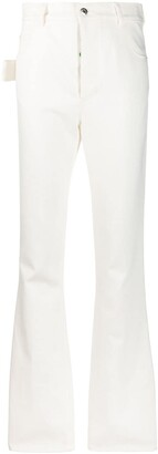 Bottega Veneta high waisted flared trousers
