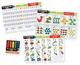 Melissa & Doug Alphabet/Numbers Placemat Set