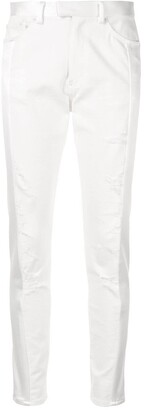 Undercover Distressed Slim Fit Trousers