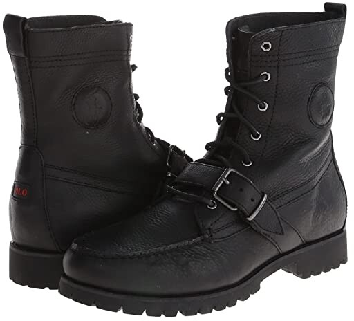 Ranger Monk Ralph Lauren Boots Polo Leather LpGqzVSUM