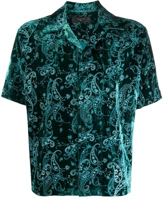Amiri Short-Sleeved Shirt