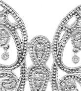 Stone 18KT WHITE GOLD BAISER PAPILLON NECKLACE WITH WHITE PAVÉ DIAMONDS
