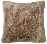 "DKNY Loft Stripe Faux Fur Decorative Pillow, 16"" x 16"""