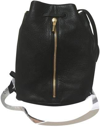 Elizabeth and James \N Black Leather Backpacks