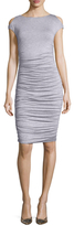 Bailey 44 Could Shoulder Ruched Sheath Dress