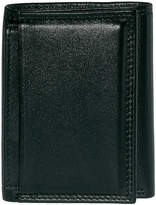 JCPenney Buxton Emblem Tri-fold Leather Wallet