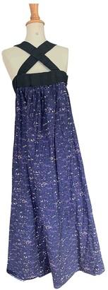 Cacharel Blue Cotton Dresses