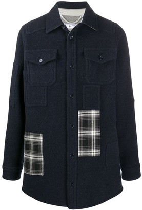 Off-White Patch-Detail Shirt-Jacket