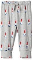 Gap Organic print knit pants