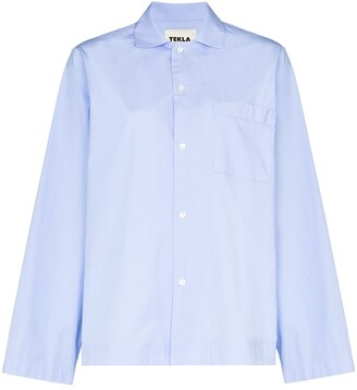 Tekla Long-Sleeve Pyjama Shirt