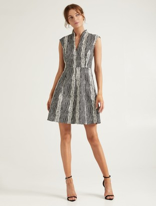 Halston Organic Notch Dress