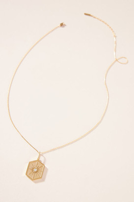 Guiding Star Pendant Necklace By Thatch in Gold