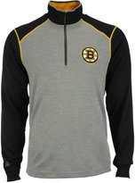 Antigua Men's Boston Bruins Breakdown Quarter-Zip Pullover
