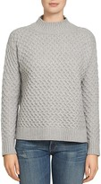 1 STATE 1.STATE Drop Shoulder Honeycomb Sweater