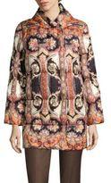 Etro Paisley-Print Puffer Coat