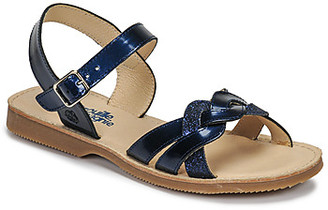 Citrouille et Compagnie MADELLE girls's Sandals in Blue