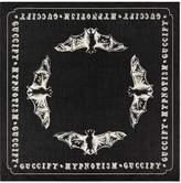 Gucci Bats print cotton scarf