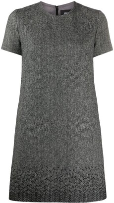 DSQUARED2 Herringbone Shift Dress