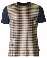 Aquascutum Thronton Front Panel Crew Neck T-shirt