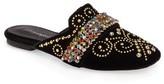 Jeffrey Campbell Women's Ravis Embellished Loafer Mule