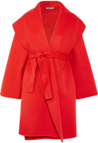 Bottega Veneta Cashmere Coat - Red
