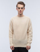 YMC Suedehead Brushed Knit Sweater