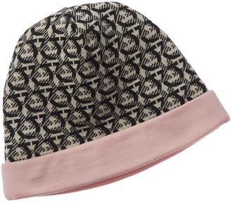Salvatore Ferragamo Gancini Wool Hat