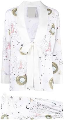 Seen Users Libra horoscope-print suit