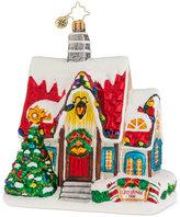 Christopher Radko Christmas Auberge Mid-Year Ornament