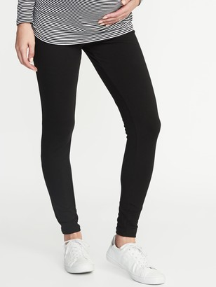 Old Navy Maternity Full-Panel Jersey Leggings