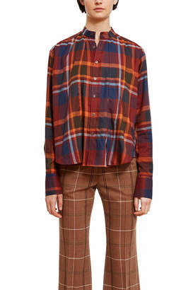 G.V.G.V. Big Plaid Stand Collar Shirt