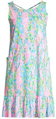 Lilly Pulitzer Kristin Printed Flounce Dress